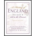 Download History of England, Volume II - 1688 to the Present (Chapters 16-31) (4th, 02) by Roberts, Clayton - Roberts, David - Bisson, Douglas R [Paperback (2001)] ebook