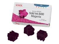 Xerox Phaser 8400 AN -Original Xerox 108R00606 - Solid Magenta Ink Cartridge -3400 -