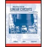 img - for The Analysis and Design of Linear Circuits by Thomas, Roland E., Rosa, Albert J., Toussaint, Gregory J. [Wiley,2009] (Hardcover) 6th Edition book / textbook / text book