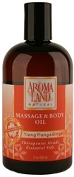Massage & Body Oil Aromaland Ylang Ylang & Ginger 12 oz