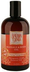 UPC 753605012304, Aromaland - Ylang Ylang & Ginger - Massage & Body Oil - 12 oz