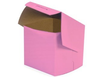 25 Pink Bakery Single Cupcake Box 4