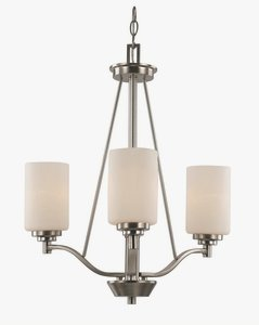 Trans Globe Lighting 70525-3 BN Indoor  Mod Pod 20.5'' Chandelier, Brushed Nickel by Trans Globe Lighting