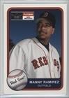 Manny Ramirez #55/201 (Baseball Card) 2001 Fleer Platinum - [Base] - Parallel - 55 201