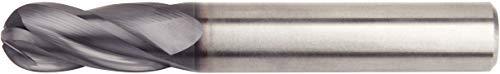 WIDIA Hanita I4B0625T225L VariMill I4B GP Roughing/Finishing End Mill Ball Nose 2.25 LOC 0.625 Cutting Dia Carbide TiAlN RH Cut Weldon 4FL