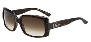 Christian Dior 60s 2 Havana Brown Gradient - Sunglasses Havana Dior