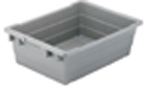 "Cross-Stack Akro-Tub: 24"" x 17"" x 8"" , 6/Carton"