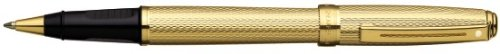 Sheaffer Prelude Barleycorn Pattern 22k Gold Plate with 22k Gold Plate Trim Rollerball ()