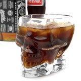 Half Liter Pirate Skull Glass