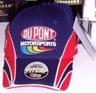 2007-Jeff-Gordon-24-Chase-Authentics-Blue-Red-Dupont-Motorsports-Official-Pit-Cap-Hat-One-Size-Fits-Most-OSFM-Adjustable-Velcro-Strap