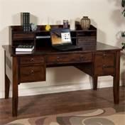 Sunny Designs 2962DC-H Santa Fe Desk Hutch