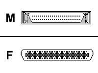 APC External SCSI Adapter Hd50m/cent50f