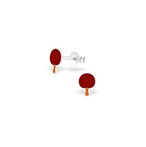 925-sterling-silver-ping-pong-paddle-colorful-ear-studs