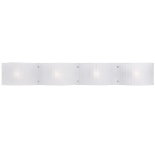- Livex Lighting 1434-05 Luna 4-Light Bath Light, Chrome by Livex Lighting