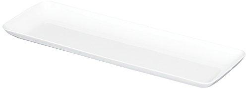 amscan Washable Plastic Mini Rectangular Trays (10 Pack), 2-1/2 X 7-1/2, -