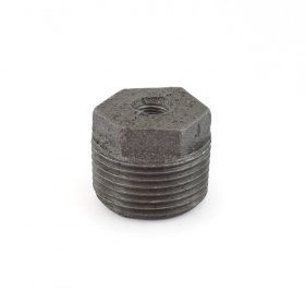 1'' x 1/8'' Black Bushing (Imported) - Pack of 50