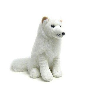 Unipak arctic fox plush toy 10