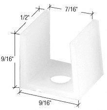 CRL Tub Enclosure Sliding Door Bottom Guide - Package C.R. Laurence [並行輸入品] B01LX5SWOQ