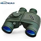 Best Night Vision Binoculars - World Optical Binoculars 10X50 Marine Military Binoculars Review
