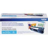 Brother Genuine TN315C High Yield Cyan Toner Cartridge