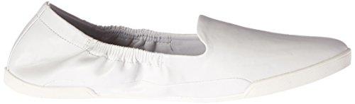 Sneaker White Women's Flat Santana Malinda by Carlos Carlos qxPBH4w