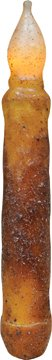 Hearthside LED Taper Candle Cinnamon Scented Wax Dipped Country Primitive Lighting Décor