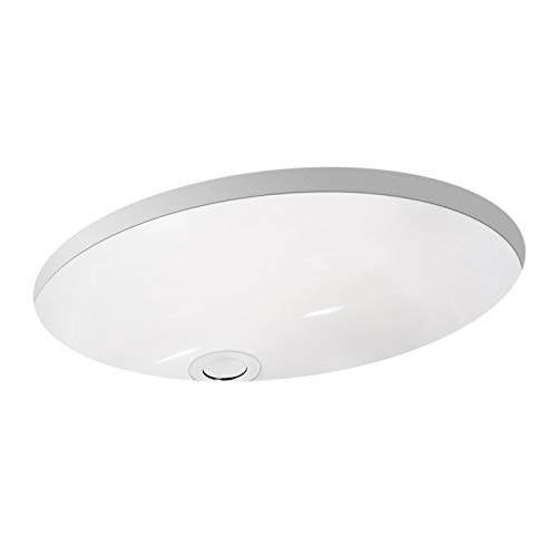 Miseno MNO1714OU Undermount 17 X 14 Bathroom Sink with Integrated Overflow