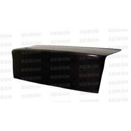 Seibon Carbon Fiber S-Style Trunk Lid Honda Civic 2dr 96-00 - Honda Civic 2dr Carbon