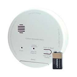 Gentex CO1209F Carbon Monoxide Alarm, 120V Hardwired Interconnectable w/9V Battery Backup, T4 Horn, A/C Contacts (918-0010-002)