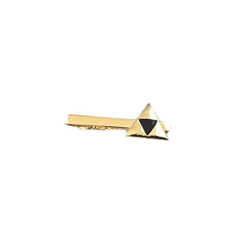 The Legend Of Zelda Triforce Heroes Costumes (Legend of Zelda Triforce Gold Tone Men's Boy's Tie Bar w/Gift Box By Superheroes)