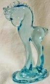 Sapphire Blue Horseshoe 5 1/2
