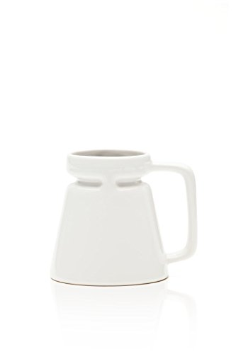 Highwave Hotjo (18oz) (White) (Mug Coffee Wide Ceramic Base)