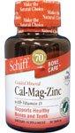 Calcium-magnésium-zinc 90 Tabs