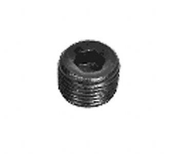 Edelbrock 9127 Internal Allen Head Pipe Plug Fittings - Set of 2