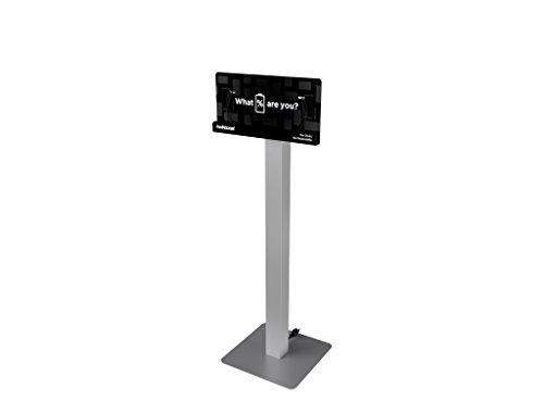 Shelf Plan - Floor Stand Cell Phone Charging Station Kiosk Tower Dock by KwikBoost | Made in the USA | Multi-Device High Speed Cables For 8 Devices, Universal Compatibility, M8 Basic