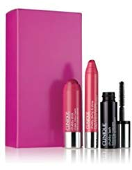 Clinique Chubby Sampler Make Up Deluxe Set: Mascara, Cheek Balm and Lip Plumping Gloss ()