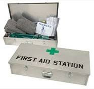 First Aid Station Kit Coal Mine Health ()
