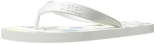 Diesel Dames A-lohaa Sa-echt Flip Flop Wit / Multicolor