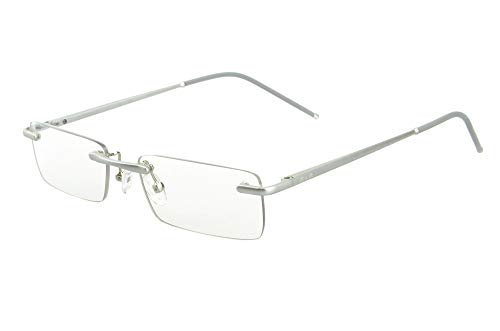 5a0141267e Edison & King Clarity rimless reading glasses – an elegant accessory with  premium lenses including blue