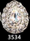 (Alloy Nail Charms, Nail Art Rhinestones, 10Pc/Lot Nail Alloy Bows 3D Sticker Nail Charming Decoration Nail Alloy Gemstone Jewelry Nail Crystals - Style 34)