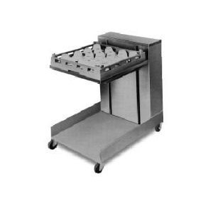 APW Wyott Lowerator Open Mobile Cantilever Glass and Tray Dispenser, 20 x 20 inch Tray Size -- 1 each. ()