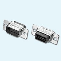 (Pc Accessories - High Density Male Crimp Type Connector D-Sub HD15 Pin, 10-PACK)