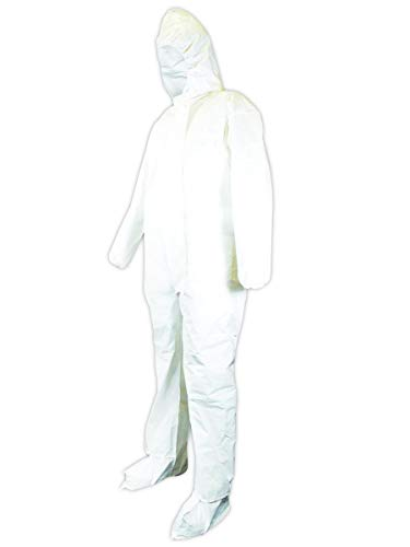 Kimberly-Clark 49126 KleenGuard A20 Breathable Protection Coverall, 3X-Large, White (Pack of 20)