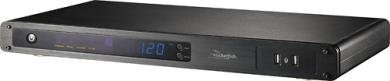 Rocketfish RF-HTS120 8-Outlet Console Power Manager with Surge Protection and Noise Filtering