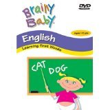 Brainy Baby English DVD Learning First Words Classic