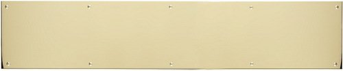 Brass Accents Kick Plate - BRASS Accents A09-P0834-605MAG 34 x 8