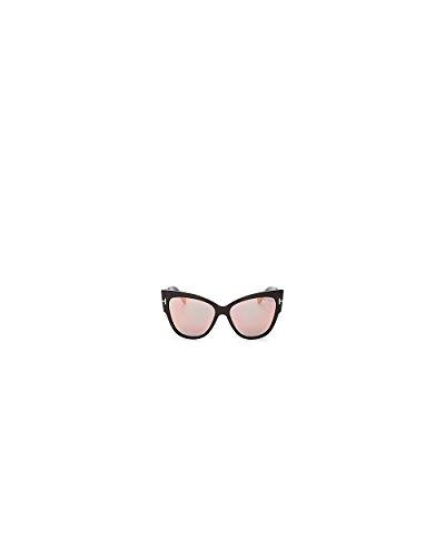 Sunglasses Tom Ford FT 0371 Anoushka 01Z shiny black / gradient or mirror - Tom Ford Women Sunglasses