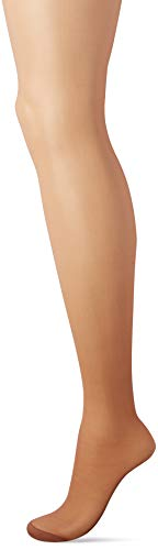 (Hanes Silk Reflections Women's Control Top Reinforced Toe Pantyhose 6-Pack, Barely There There, CD )