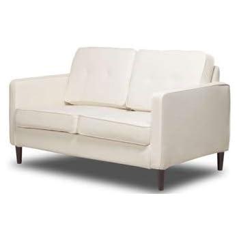 Amazon.com: Love Seat - Banco de sofá pequeño, color naranja ...