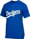 Majestic Two Button Los Angeles Dodgers Cool Base 2 Button X-Large Youth Jersey